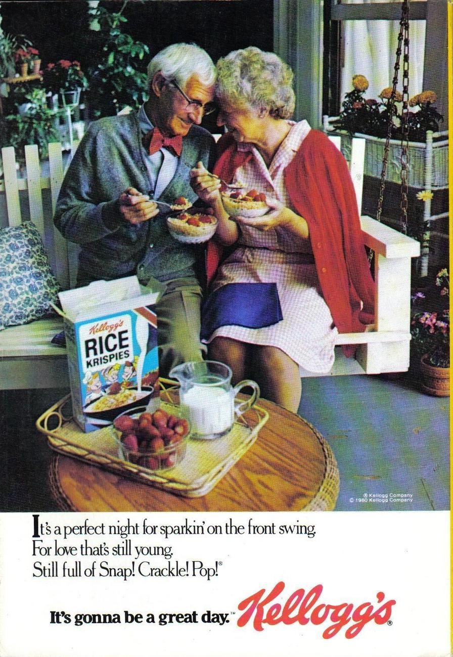 Primary image for Kelloggs Full Page Color Print Ad From 1980 It's Gonna Be A Great Day  Near Mint