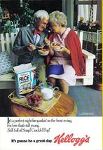 Kelloggs Full Page Color Print Ad From 1980 It's Gonna Be A Great Day  N... - $3.50