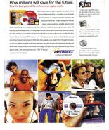 Memorex  Print Ad 2002 How Millions will save for the future Original Ne... - $3.50