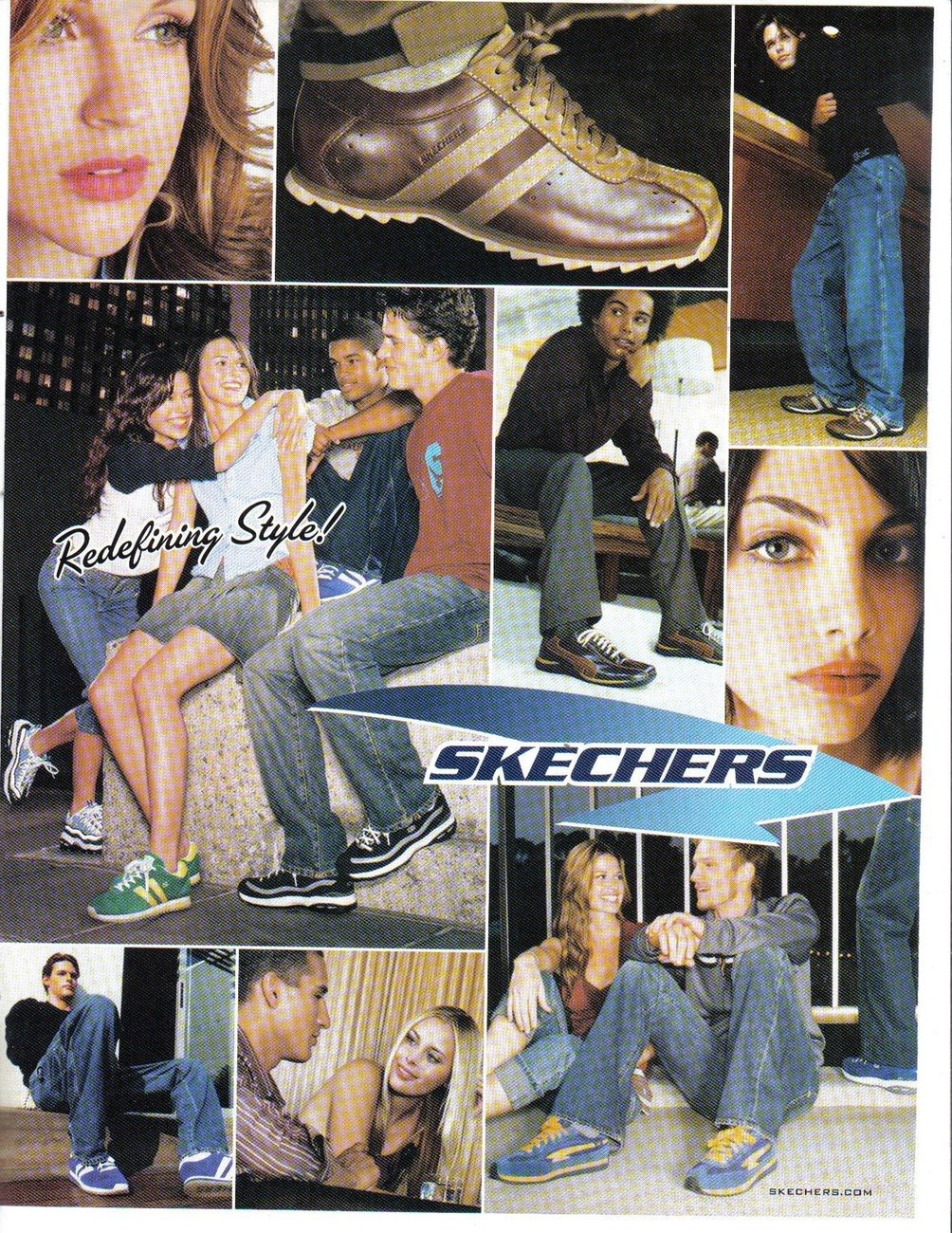 Primary image for Skechers 2002 Redefining Style! 2002 Full Page Color Print Ad Near Mint