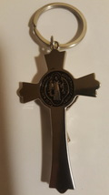 St Benedict Protection Christian Key Ring  image 2