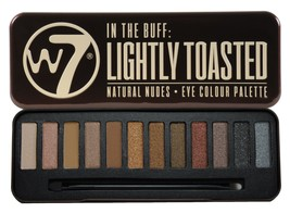 W7 In The Buff Lightly Toasted Eye Colour Palette - $10.10