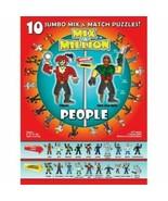 People Mix-A-Million 10 Jumbo Mix and Match Puzzles - $9.49