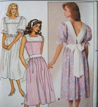 Vintage Sewing 1980s Pattern Womans sz 12 Dress B3675 - $5.95
