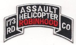 US Army 173rd AHC Assault Helicopter Company Robinhoods Patch - $9.99