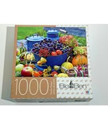 Colorful Harvest Time - 1000pc. Jigsaw Puzzle - Big Ben - 20x27in. - $13.55