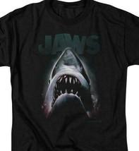 JAWS retro 70's 80's shark thriller Spielberg movie graphic t-shirt UNI352 image 2