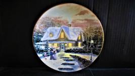 "Thomas Kinkade's Home For The Holidays,"" Home To Grandma's "" Collector P... - $20.99"