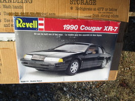 Revell 1990 Cougar XR-7 1/25 scale - $18.99
