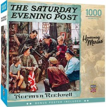 MasterPieces Norman Rockwell 1000 Puzzles Collection - Homecoming Marine - $13.85