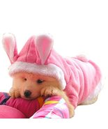 NACOCO Dog Rabbit Costume Pet Puppy Hoodies Clothes Coat Bunny Autumn Wi... - $12.86