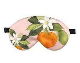 Double Sided Silk Eye Mask Elegant Eyeshade Sleep Eye Mask with Adjustable Strap image 2