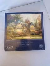 Thomas Kinkade Painter of Light Winsor Manor 1000 Piece 27x20 Jigsaw Puzzle - $9.99