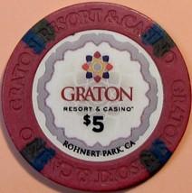 $5 Casino Chip. Graton, Rohnert Park, CA. V11. - $6.50