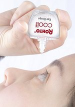 Rohto Cool Max Maximum Redness Relief Cooling Eye Drops, 0.4 Ounce, 3 Count image 6