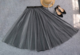 Black white long tulle 5 thumb200