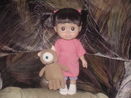 """12"""" Talking Babblin Boo Doll With Micky and Complete Outfit Very Nice - $98.99"""