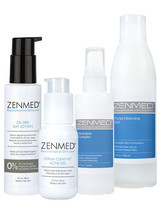 An item in the Health & Beauty category: ZENMED® Acne Therapy Kit for Combination Skin