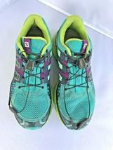 Salomon X Mission 3 Hiking Shoes Size 8 Breathable Running Contagrip Sensifit image 2