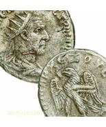 Traiano Decius Tetradracma Raro 6 IN Prieur 548 Large Antico Romanzo Imp... - $350.11