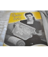 Vintage Chair Sets Crochet Book No. 181 - $10.00