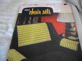 Coats & Clark's Book No. 309~Smart Chair Sets Crochet Book - $5.00