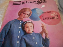 Spinnerin~101 Ideas Lesson 2, Vol. 2 Knitting Book - $7.00