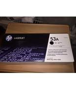 New Sealed Genuine OEM HP 53A (Q7553A) Toner; Black; Exp: 11-11-2013 - $60.30