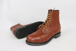 Vintage Nuevo Red Wing Shoes Hombre 11 D 4412 Aislado Cuero Acero Punta ... - $632.46