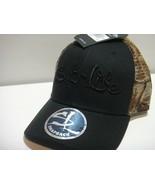 Salt Life Camo Snap Back Hat One Size Fits Most Black Camo - $24.27