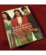 Yarn Girls Guide Knits All Seasons Knitting Patterns Sweaters Carles FRE... - $24.16