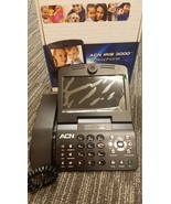 "ACN Iris 3000 7"" Screen Videophone Telephone Landline Ethernet Conferenc... - $20.00"