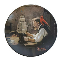 "Norman Rockwell The Ship Builder 1980 Knowles China Plate 8.5"" Round 14620C - $29.39"