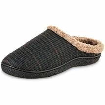 Slippers Men's Sherpa Memory Foam Hoodback (brown , 8-9) - $35.19