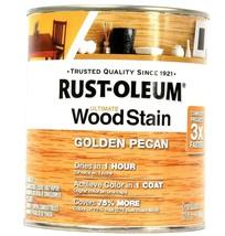 1 Can Rust-Oleum 32oz Ultimate Wood Stain 344722 Golden Pecan Dries In 1... - $21.99