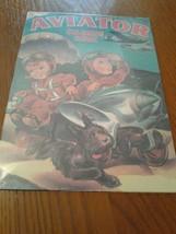 Hallmark Kiddie Car Classics Tin Sign 1943 Aviator Coloring Book Cover R... - $23.36