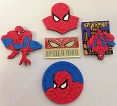Spiderman Marvel 5 Piece Refrigerator Magnet Set - $9.16