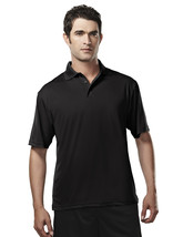Tri-Mountain Campus 224 Poly UltraCool Golf Shirt - Black - ₹1,258.34 INR+