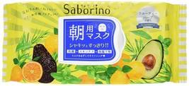 BCL Japan Saborino Morning Care 3-in-1 Face Mask (32 sheets/304ml) Jumbo Pack image 1