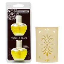 Claire Burke Vanilla Bean Electric Fragrance Warmer Unit and Refill Bundle - $29.69