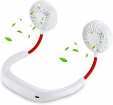 Personal Fan Neckband Fan, Portable Mini USB Hands Free