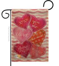 Love Together Forever Burlap - Impressions Decorative Garden Flag G15105... - $22.97