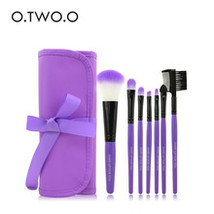 O.TWO.O 7pcs/lot Purple Color Make Up Brushes Set Cosmetics Brush Set Wi... - $4.00