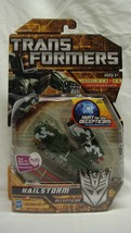TRANSFORMERS HFTD HUNT FOR THE DECEPTICONS HAILSTORM DELUXE NEW SEALED! - $25.48