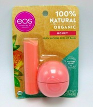 EOS 100% Natural Organic Shea Lip Balm Honey Stick & Sphere - $9.85