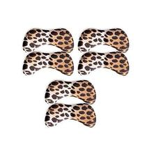[Set Of 3] Comfortable 4D Butterfly Shoe Cushions/Pads Heel Insole, Leopard