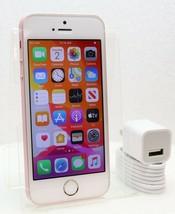 "Apple iPhone SE 32GB - 4G LTE (GSM UNLOCKED) 4"" Smartphone - Rose Gold"