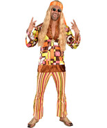 60's / 70's Retro Woodstock Hippy Costume , S - XXL  - $45.15