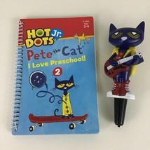 Hot Dots Jr Pete The Cat I Love Preschool Book Interactive Pen Education... - $17.77