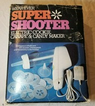 Wearever Super Shooter 70001 Electric Cookie Press Canape Candy Maker Co... - $29.69